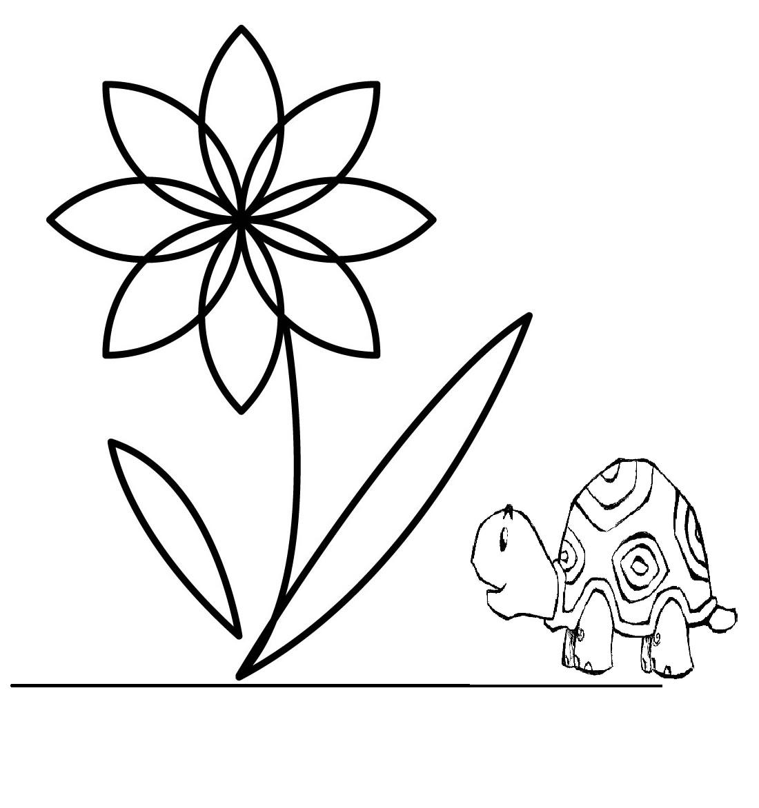 çiçekler Boyama Sayfaları Arabulokucom