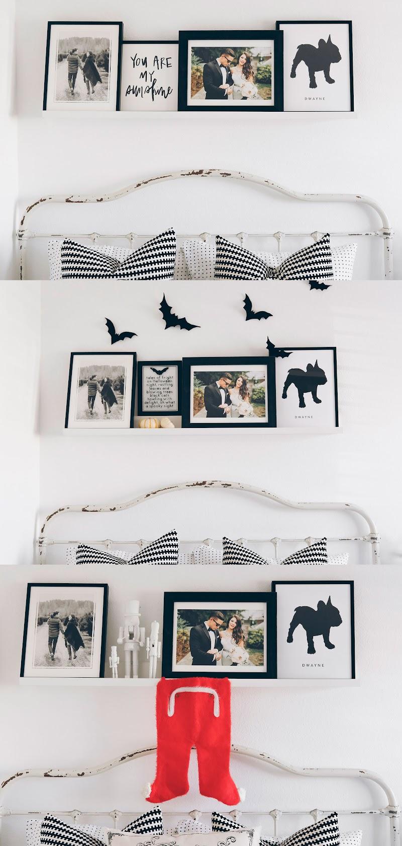 Cool Modern Bedroom Gallery Wall wallpaper