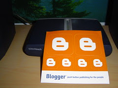 Google's Blogger Sticker