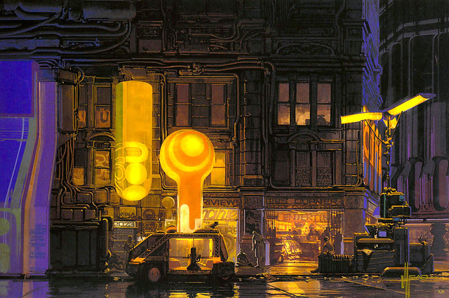 1980 ... 'Bladerunner' concepts - Syd Mead