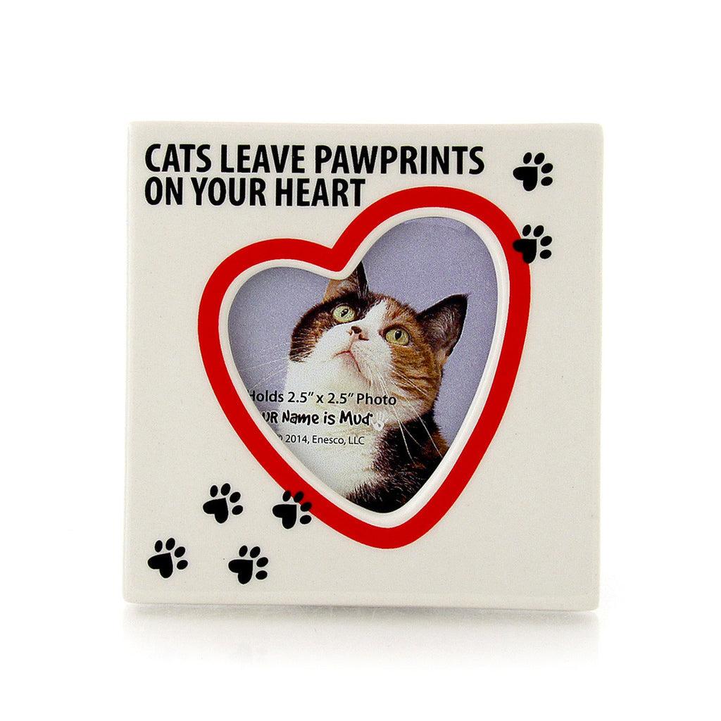 Cat Paw Prints Photo Frame Lorrieveaseycom