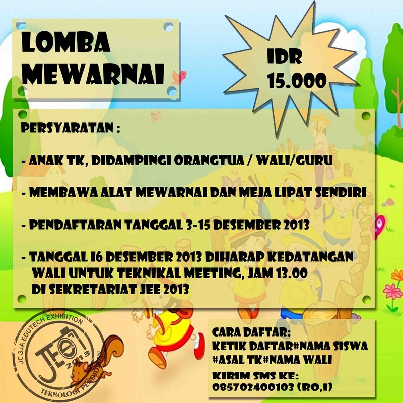 Lomba Mewarnai Jee 2013
