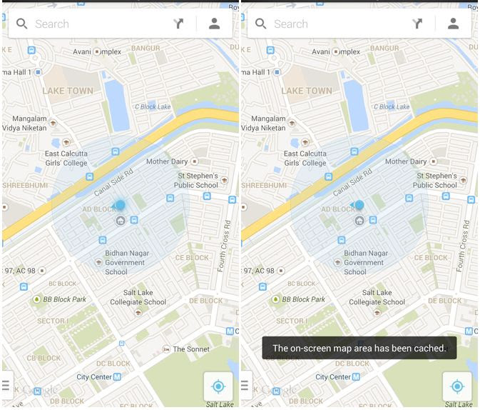 Cult Of Android Save Maps For Offline Use In The New