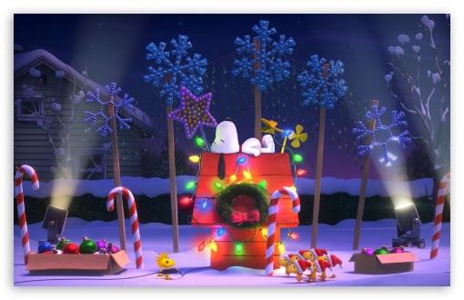 The Peanuts Christmas Ultra HD Desktop Background ...