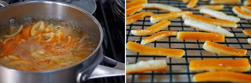 Christmas kitchen, orangettes