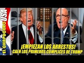 ¡Se derrumba Trump! Arrestan a sus abogados mientras la mayoría de gringos lo quieren fuera