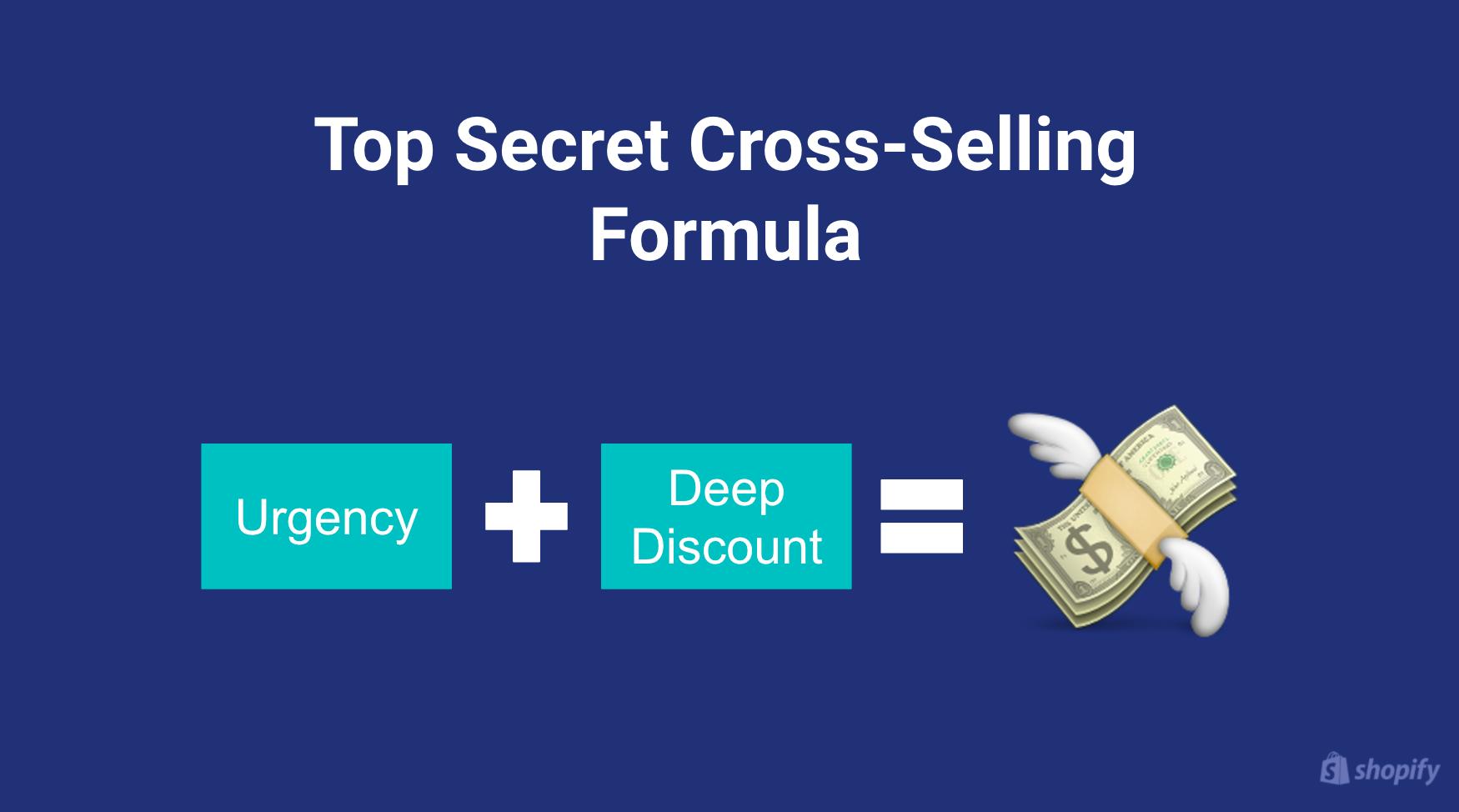 Top secret cross-selling formula