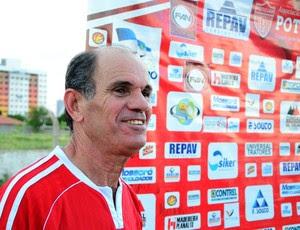 Miluir Macedo, técnico do Potiguar de Mossoró (Foto: Wilson Moreno/Gazeta do Oeste)