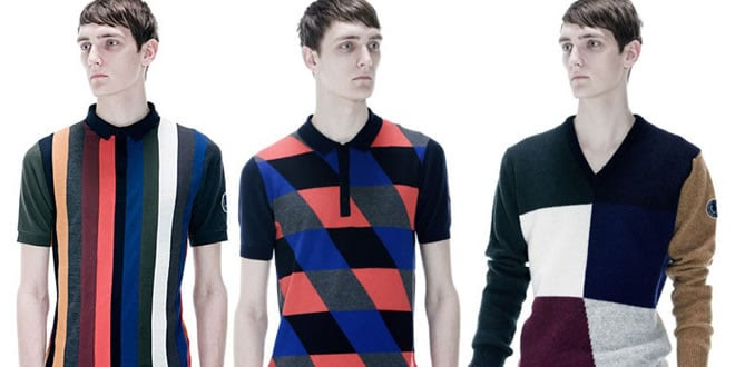 Raf Simons x Fred Perry SS13 Collection