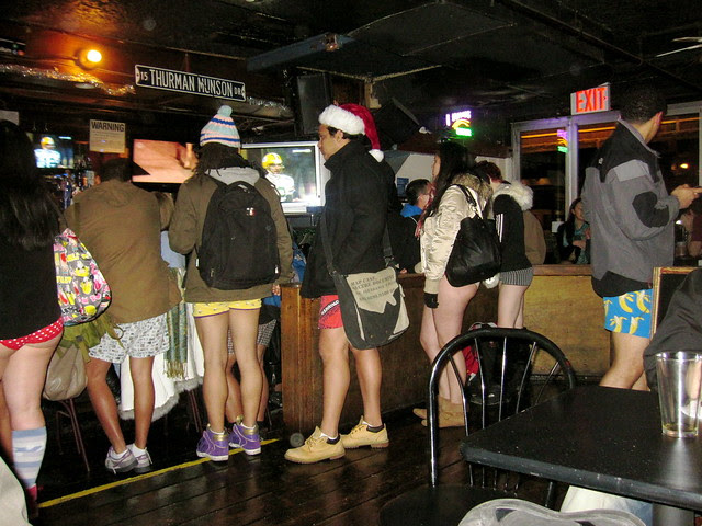 no pants at bar none