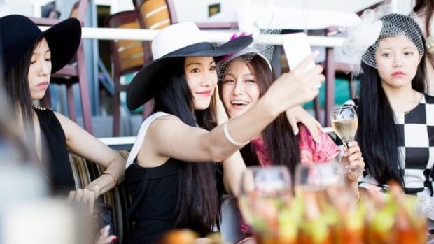"""Joy, Flo.z, Chelsea, and Coco Paris galavant around town, in the web series """"Ultra Rich Asian Girls."""""""