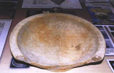Ανασύρθηκε προκατακλυσμιαίο πιάτο με γράμματα του ΑΡΧΑΙΟΥ ΕΛΛΗΝΙΚΟΥ ΑΛΦΑΒΗΤΟΥ