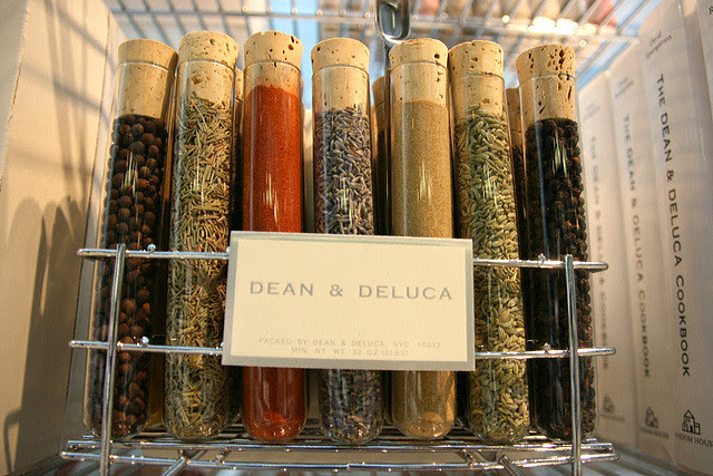 Dean & DeLuca test tube spice rack
