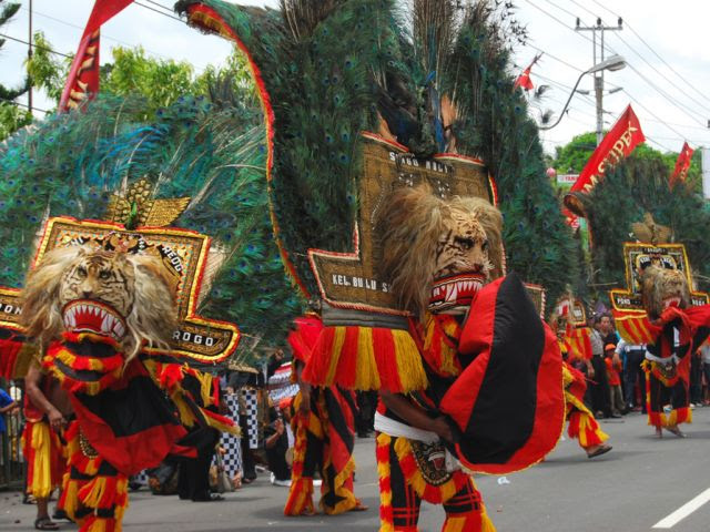 Reog Ponorogo, Originate Culture from Ponorogo, East Java  Indonesia