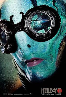 Abe Sapien Hellboy II movie teaser poster