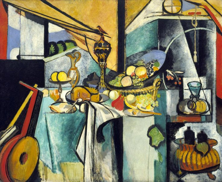Still Life after Jan Davidsz. de Heem's La Desserte Henri Matisse