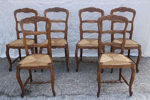 Antique Carved Chair Dining Ladderback Antiques Center