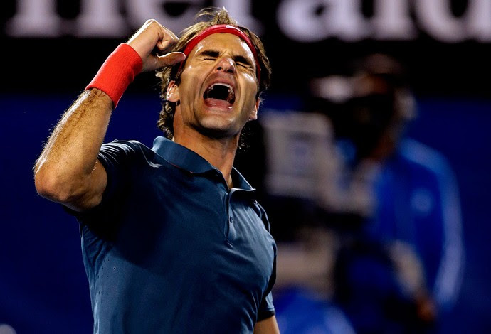 tênis roger federer australian open (Foto: Agência AP)