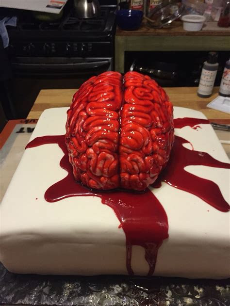 15 best images about zombie cakes on Pinterest   Brain