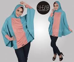 Fashion Style Baju Hijab Simple Modern Terkini