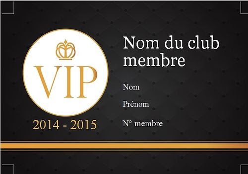 Carte D'invitation D'anniversaire Vip | Zeeep Web