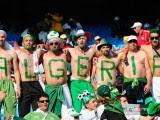 fans Algérie lettre Coupe du Monde 2014