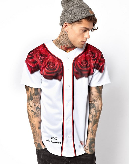 siksilk  siksilk baseball jersey with rose
