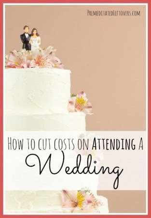 Cost Saving Tips for Attending a Wedding