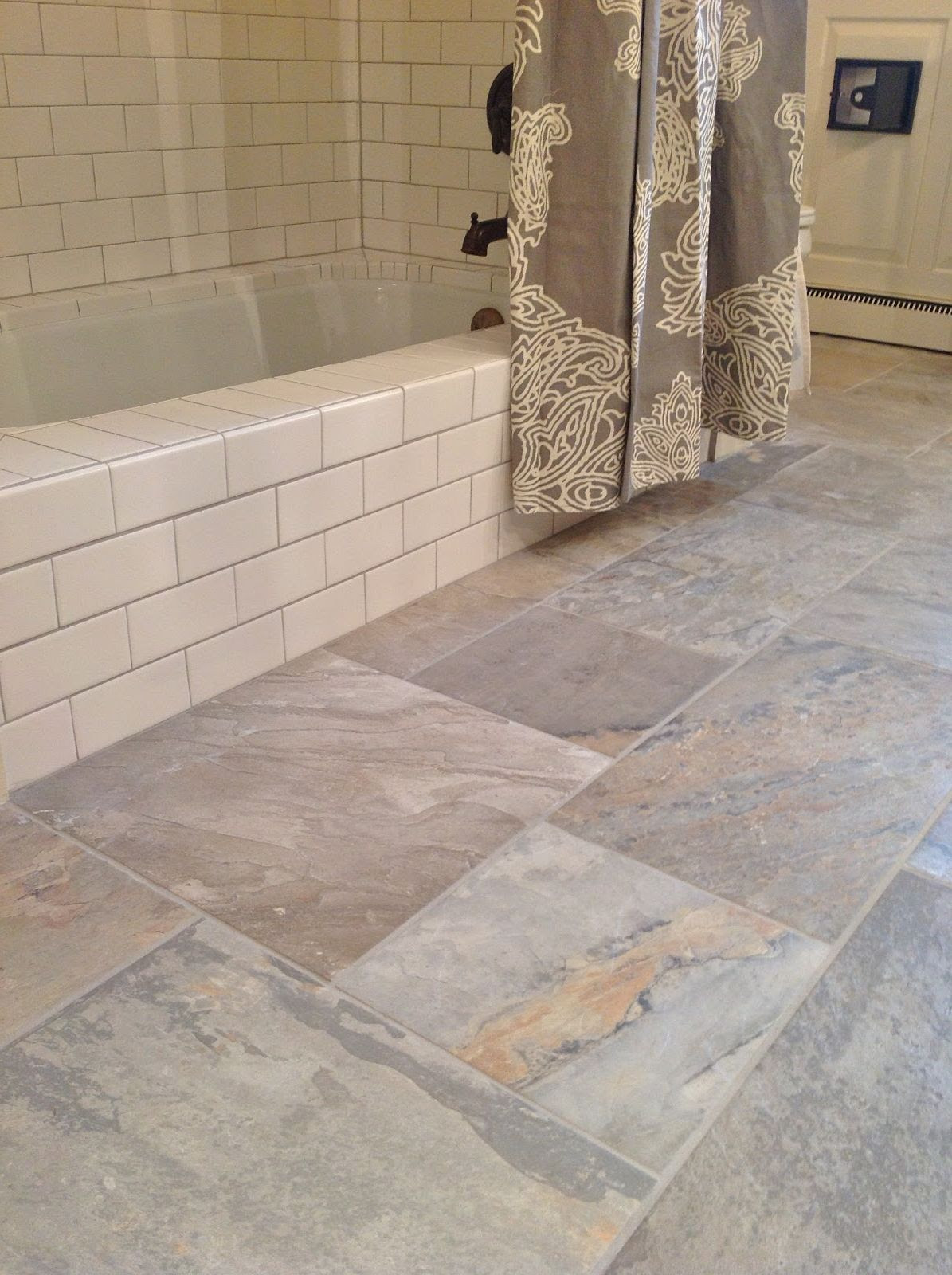 30 good ideas and pictures classic bathroom floor tile ...