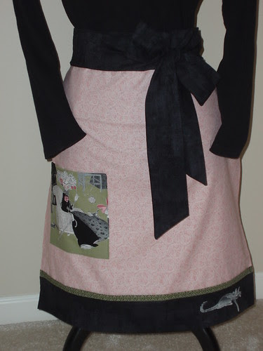Pink Hot Dog Pillow Case Apron