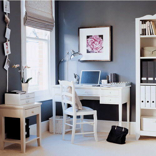 Sophisticated Monday - Home Office via housetohome