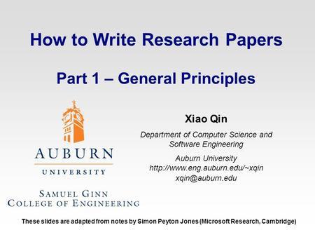 how to write a great research paper simon peyton jones