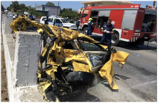 Τραγωδία με νεκρή 28χρονη από το Δήμο Αμφιλοχίας σε τροχαίο