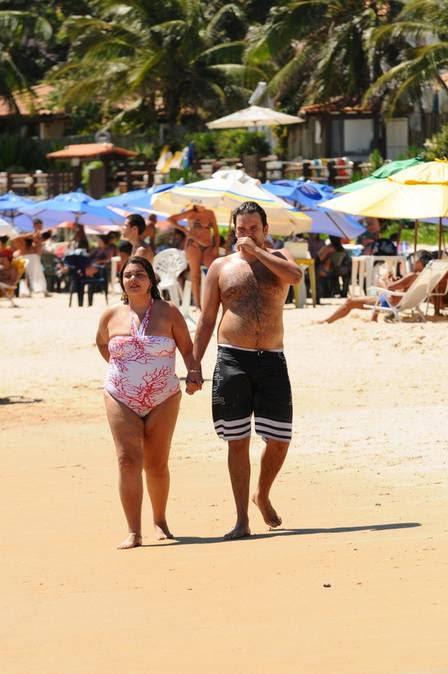 Fabiana Karla e o namorado, Bruno Muniz