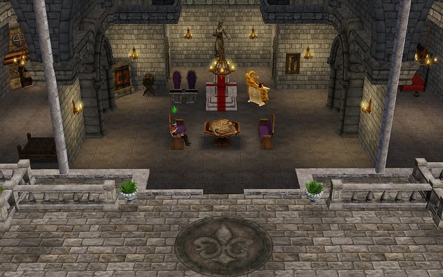 Throne Room 1 Beautifully Decorated 40 buff