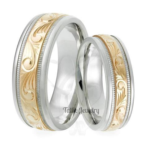 15 Best Collection of Men's And Women's Matching Wedding Bands