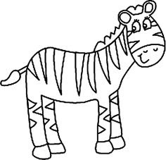 5400 Cute Zebra Coloring Pages Images & Pictures In HD