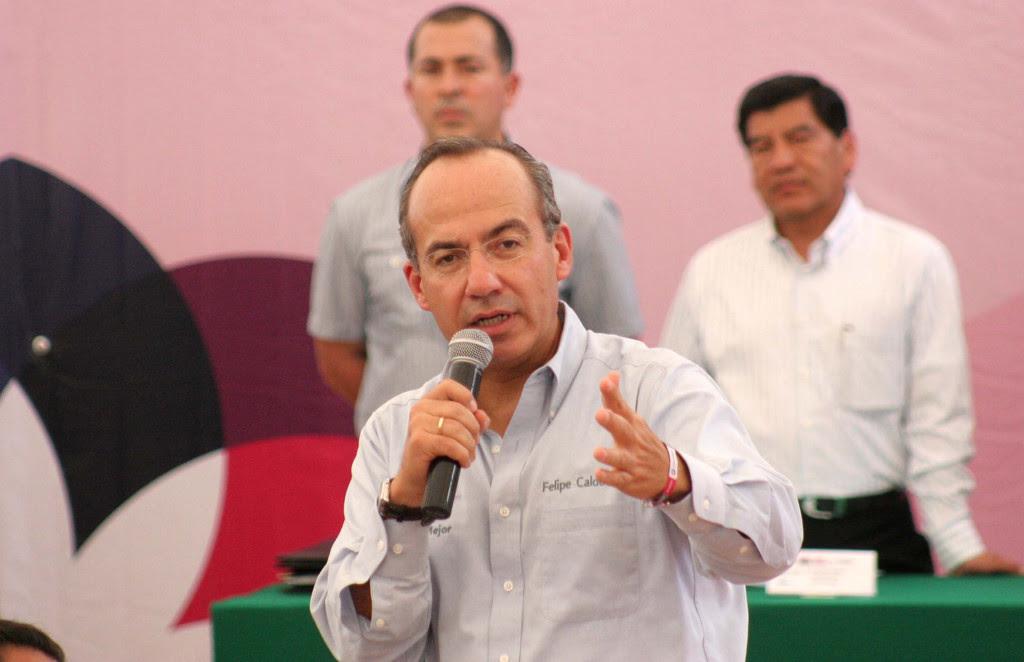 Felipe Calderón. Foto: Gobierno de la República/Flickr