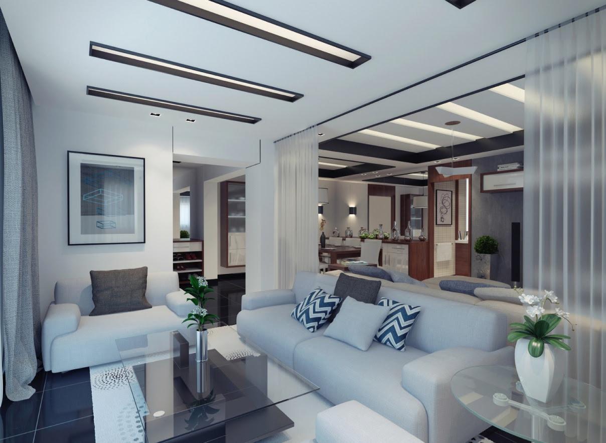 | contemporary apartment living roomInterior Design Ideas.