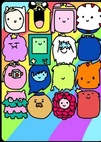Adventure Time Wallpaper for iPhone  WallpaperSafari