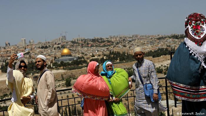 Jerusalem - Ölberg, Touristen (Reuters/R. Zvulun)