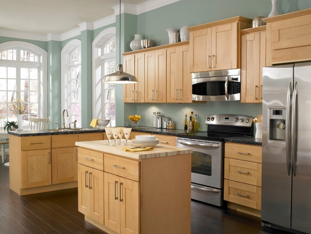 Kitchen Paint Colors with Maple Cabinets - Home Furniture ...
