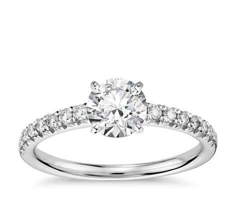 Pave Engagement Rings: An Infinity of Diamonds   Wedding