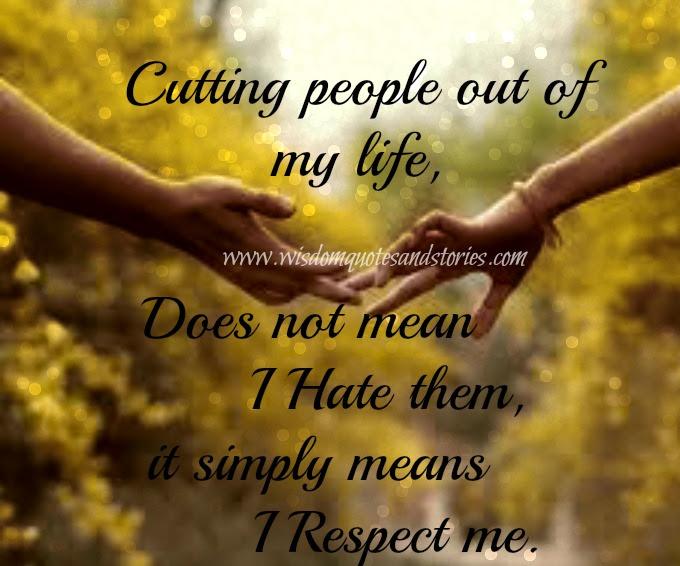 I Respect Me Wisdom Quotes Stories