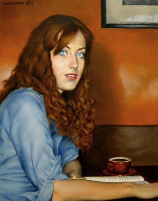 Daniel Maidman - Rachel at the cafe