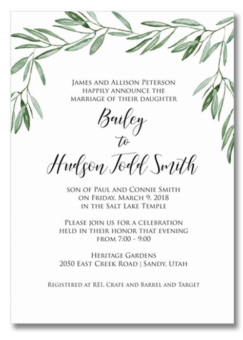 Wedding Invitations   Annette Ward Studio