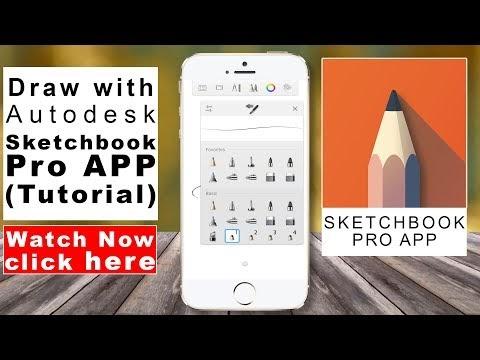 Draw realistic eye with autodesk sketchbook app in mobile phones