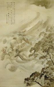 mongol fleet destroyed in a typhoon