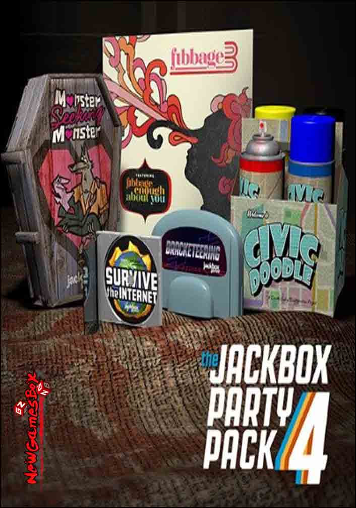 The Jackbox Party Pack 4 Free Download Full PC Setup