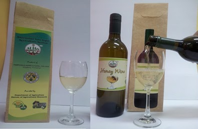 Honey wine from Mount Arayat